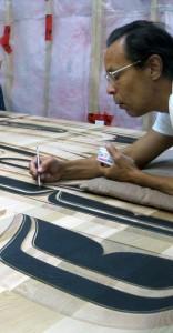 Ya'Ya painting carving