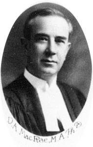 Donald Alexander McRae