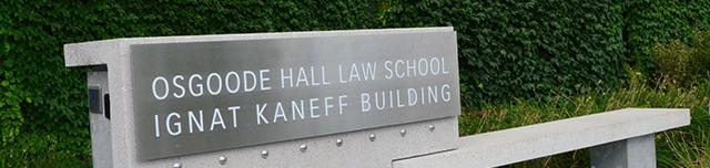 Osgoode building sign