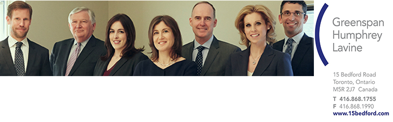 Lawyers at Greenspan Humphrey and lavine