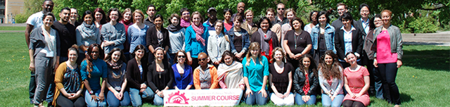 Summer Course Students