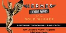Hermes Creative Awards Winner