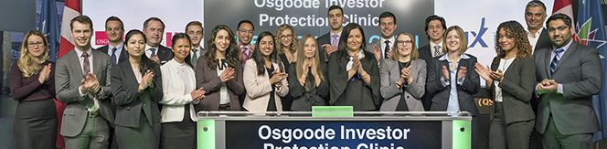 Investor Protection Clinic at TSX