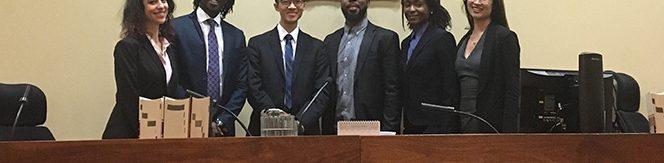 Julius Alexander Isaac Diversity Moot 2018