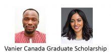 Vanier Scholars 2018-19