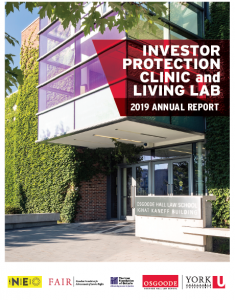 Investor Protection Clinic Annual Report